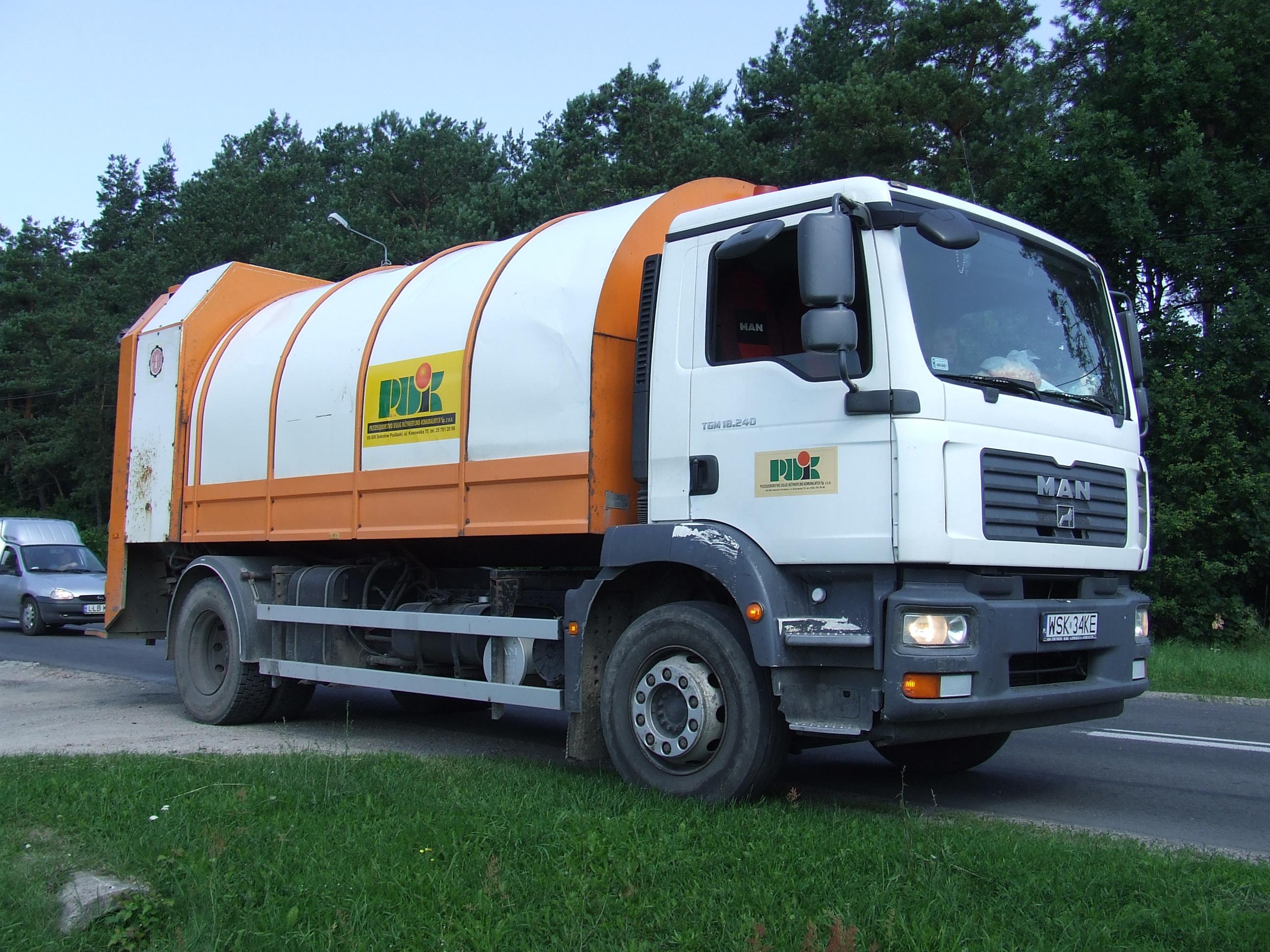 Harmonogram wywozu odpadów komunalnych zGminy Sokołów Podlaski